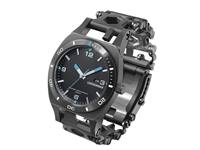 Leatherman Tread™ Tempo Black met horloge