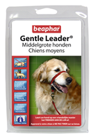 Beaphar Gentle Leader medium Rood
