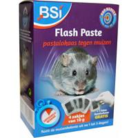 Flash Paste Tegen Muizen 4x10 gram